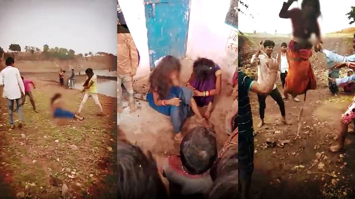 बेटियों से बर्बरता: धार से युवतियों की बेरहमी से पिटाई करने का Video Viral