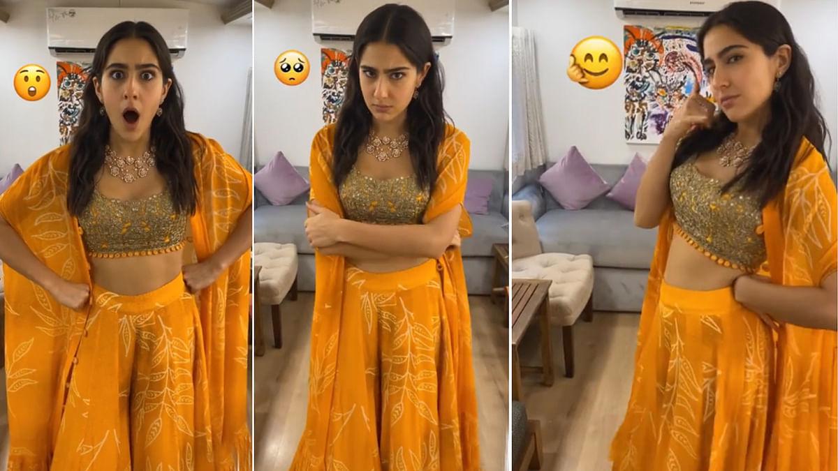 World Emoji Day पर सारा अली खान ने दिखाया अपना टैलेंट, बनाए तरह-तरह के चेहरे