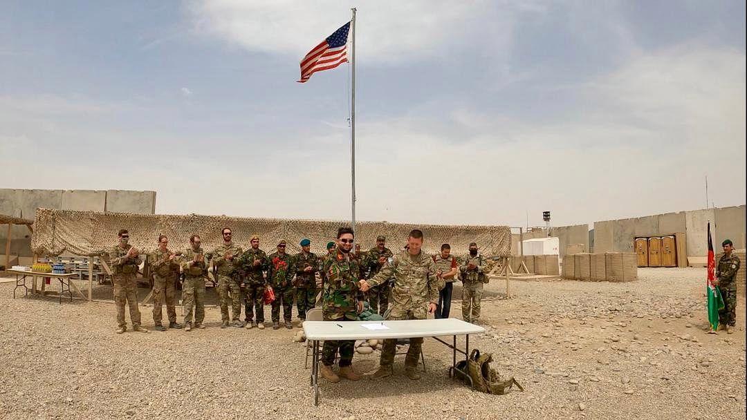 अफगानिस्तान शांति प्रकिया में मदद जारी रखेगा अमेरिका