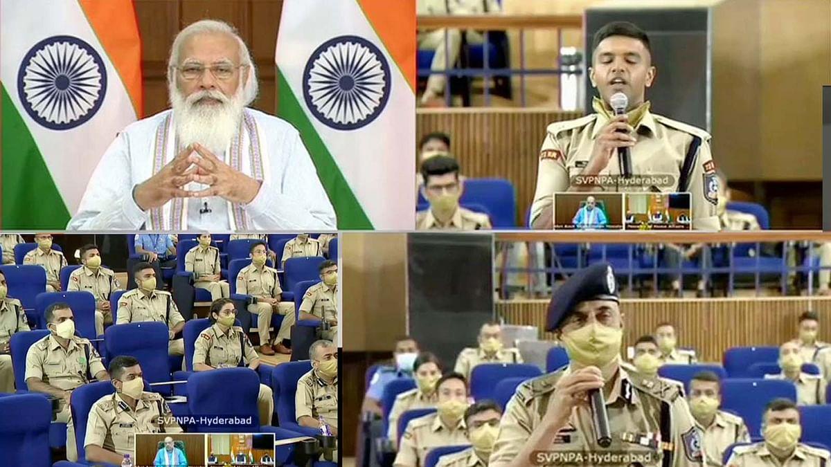 SVPNPA में ट्रेनी IPS प्रोबेशनर्स के साथ संवाद में PM मोदी ने दिए ये विचार