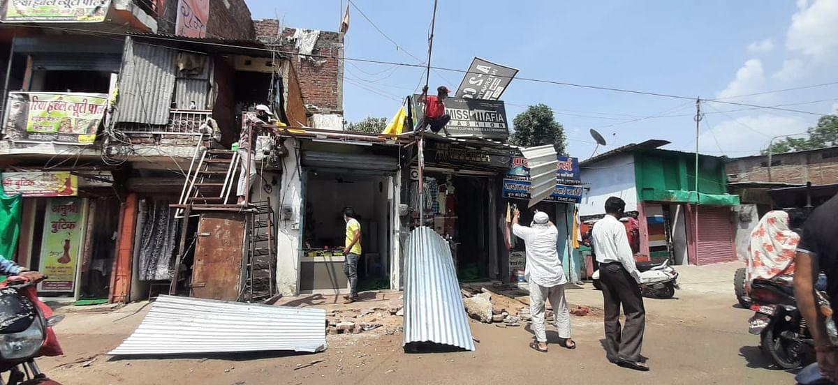 अतिक्रमण अधिकारियों का गरीबों पर जेसीबी का पंजा, रसूखदारों पर मेहरबानी