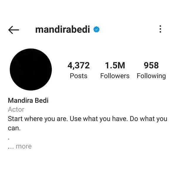 पति के निधन के बाद Mandira Bedi ने लिया फैसला