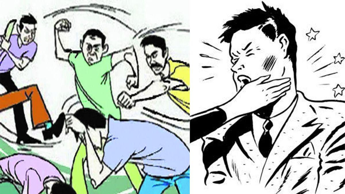 मप्र GST भवन से बड़ी खबर- विवाद के चलते बाबू ने डिप्टी कमिश्नर को मारा थप्पड़