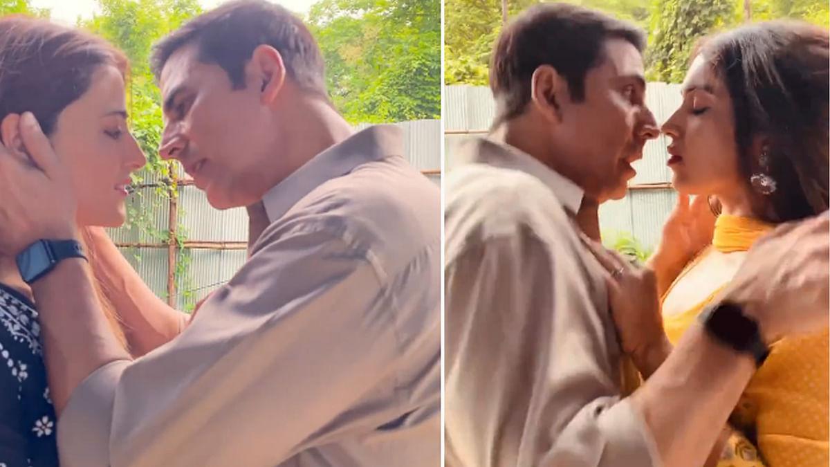 नुपुर सेनन को KISS करने वाले थे अक्षय और तभी हुआ कुछ ऐसा, देखें फनी Video