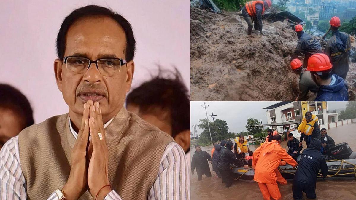 महाराष्ट्र के रायगढ़ में हुए हादसे पर MP के सीएम ने जताया दुख, की प्रार्थना