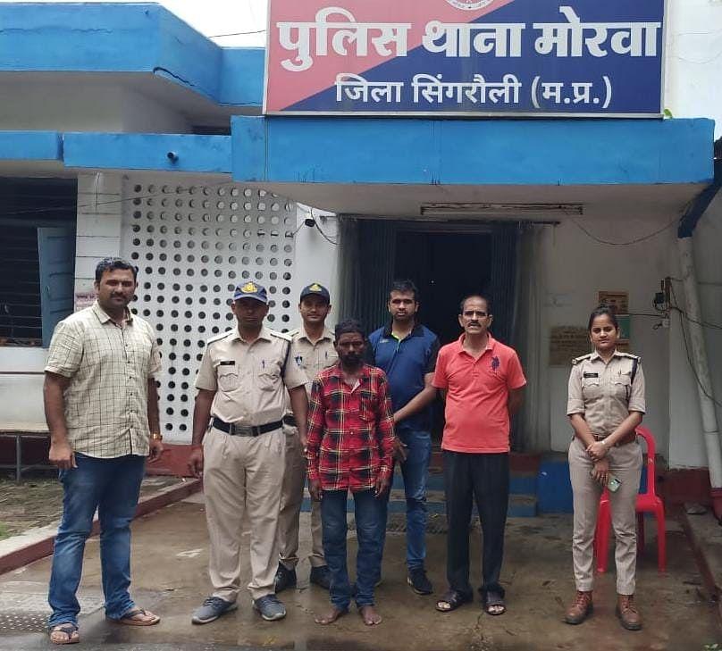 नाबालिग से दुराचार के मामले में मोरवा पुलिस ने आरोपी चाचा को किया गिरफ्तार