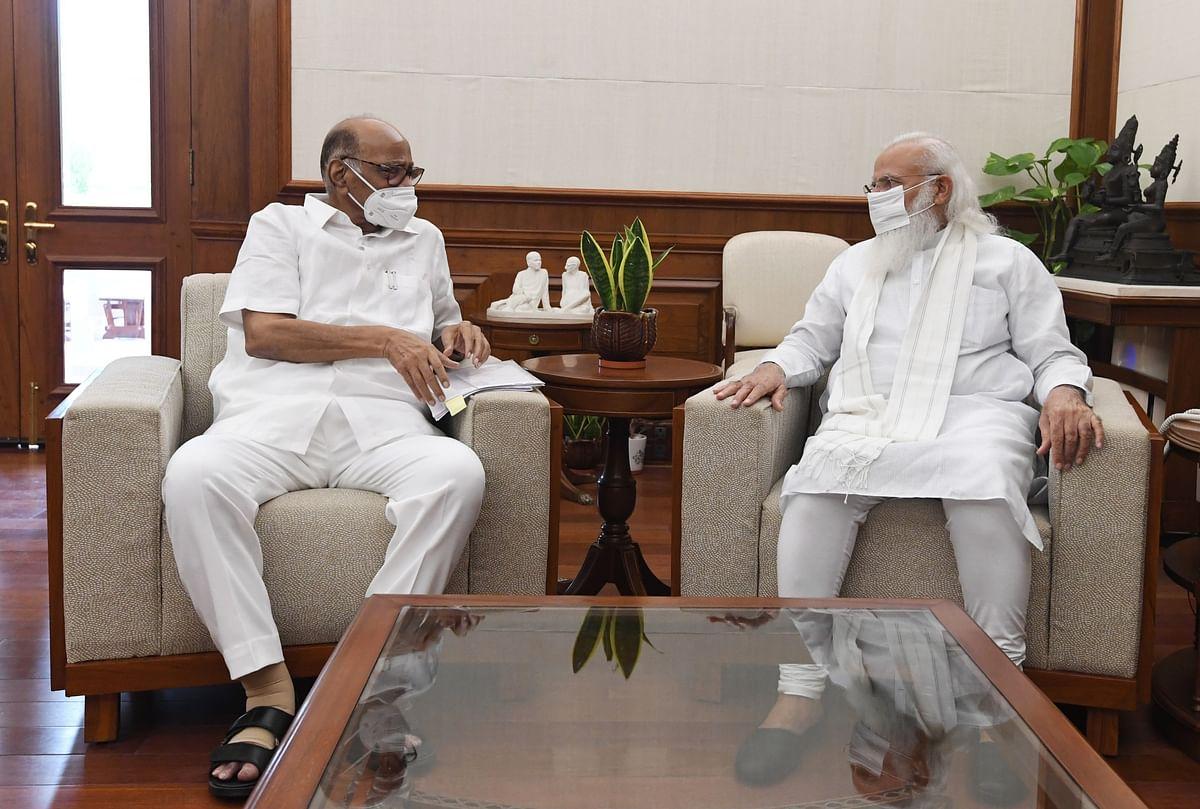 दिल्ली में शरद पवार और PM मोदी की मुलाकात से सियासी अटकलों का दौर शुरू