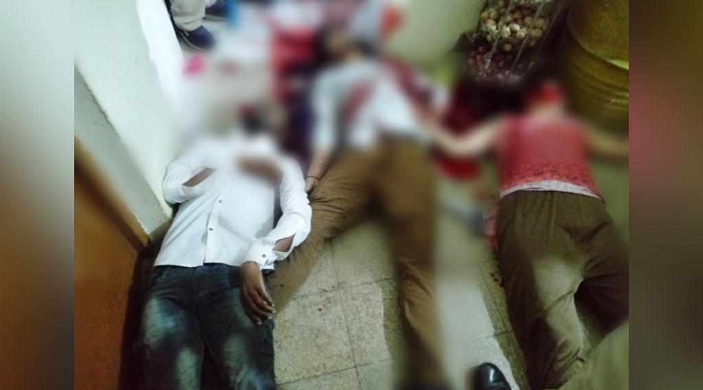 आमला हत्या कांड : तीन की कनपटी और एक की छाती में मिली बुलेट