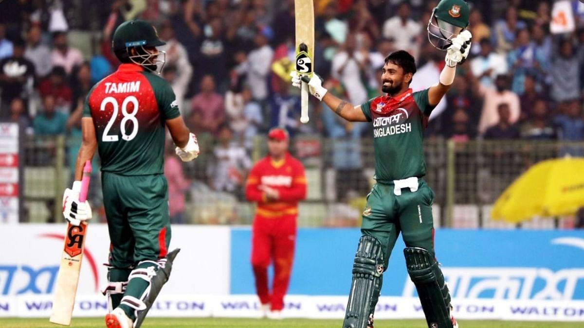 नईम व सौम्य सरकार के अर्धशतक, बांग्लादेश ने जिम्बाब्वे को आठ विकेट से पीटा
