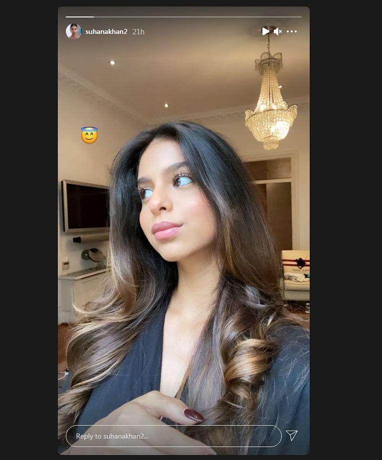 सुहाना खान ने शेयर की अपनी लेटेस्ट तस्वीर शेयर