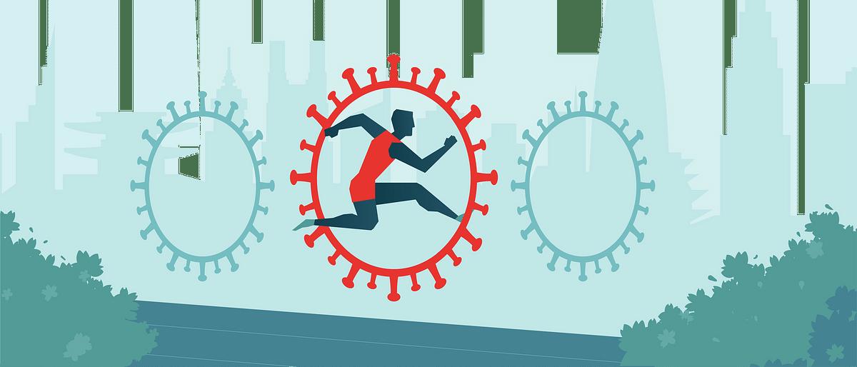 दो एथलीटों सहित 10 लोग कोरोना से संक्रमित
