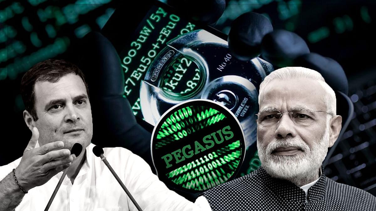 Pegasus Spyware : कांग्रेस ने लगाए सरकार पर आरोप, BJP ने किए खारिज