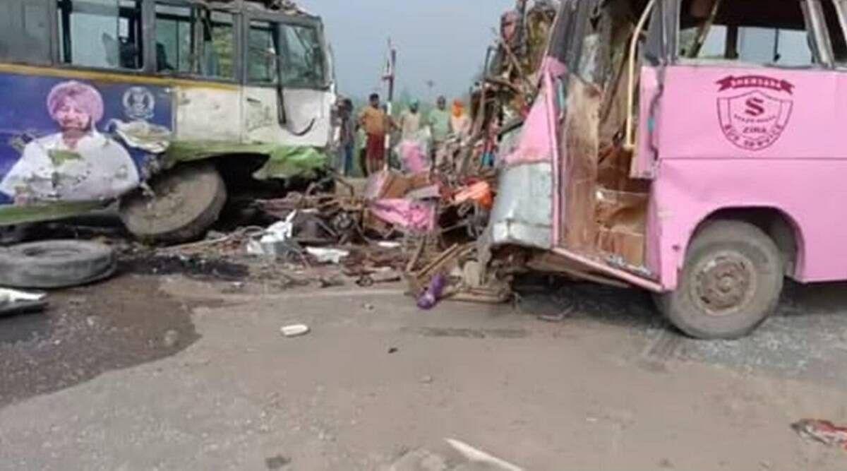 Bus Accident: पंजाब के मोगा जिले में बस हादसा, 3 कांग्रेसियों की मौत