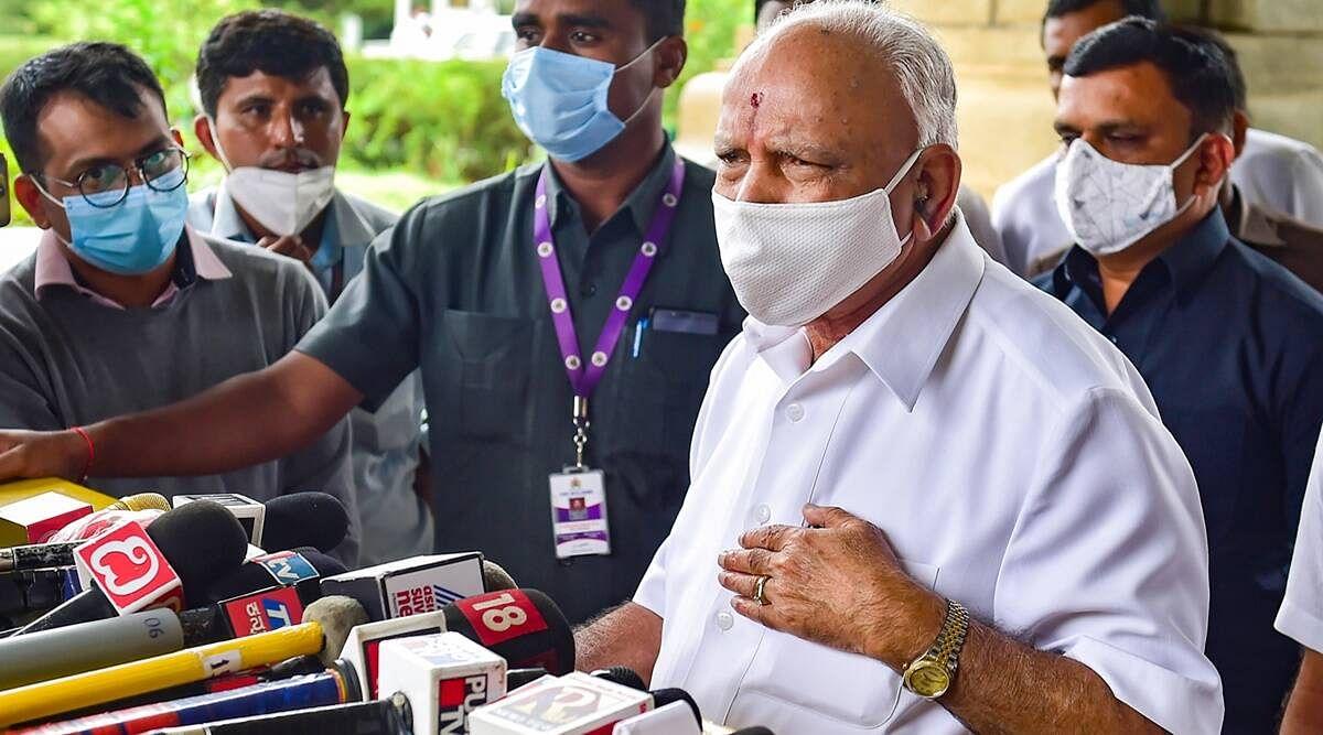 कर्नाटक CM का पद BS येदियुरप्पा ने छोड़ा- राज्यपाल ने स्वीकार किया इस्तीफा