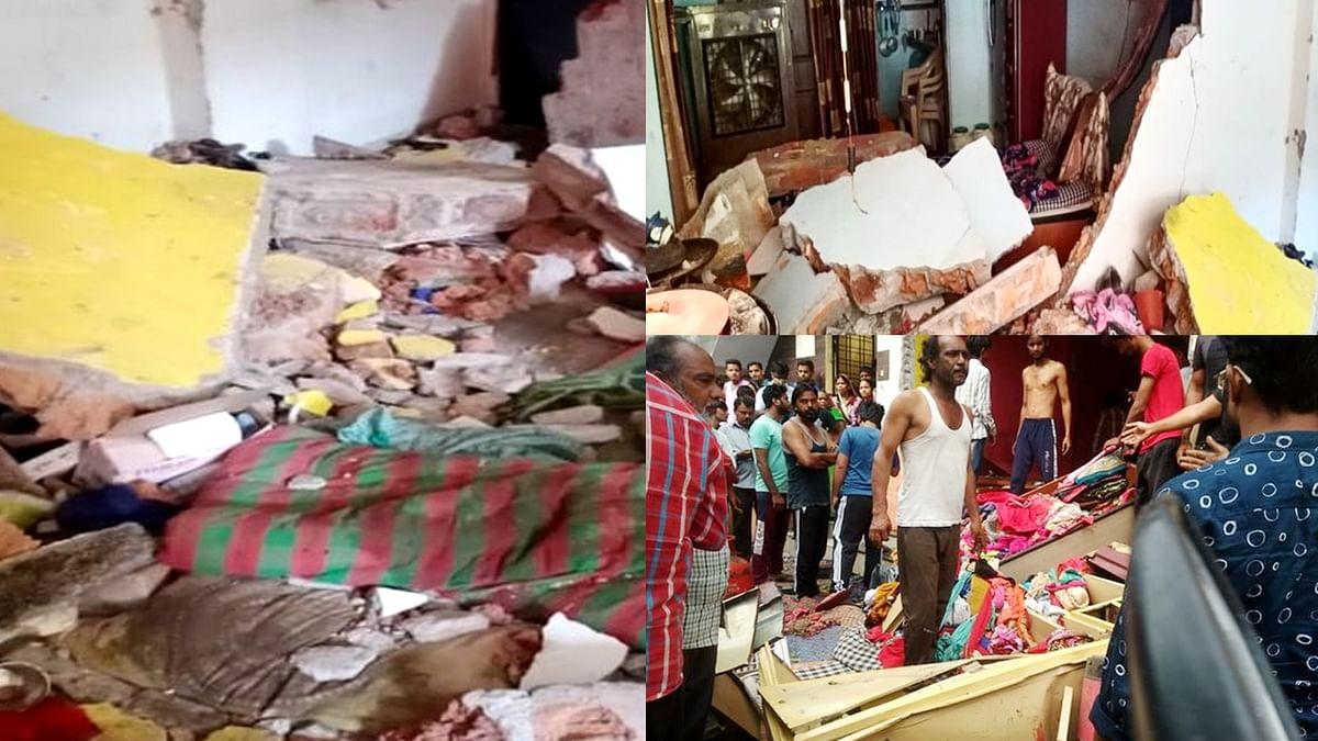 Indore: महू कैंट एरिया से लगे खान कॉलोनी की मल्टी में हुआ ब्लास्ट, कई घायल
