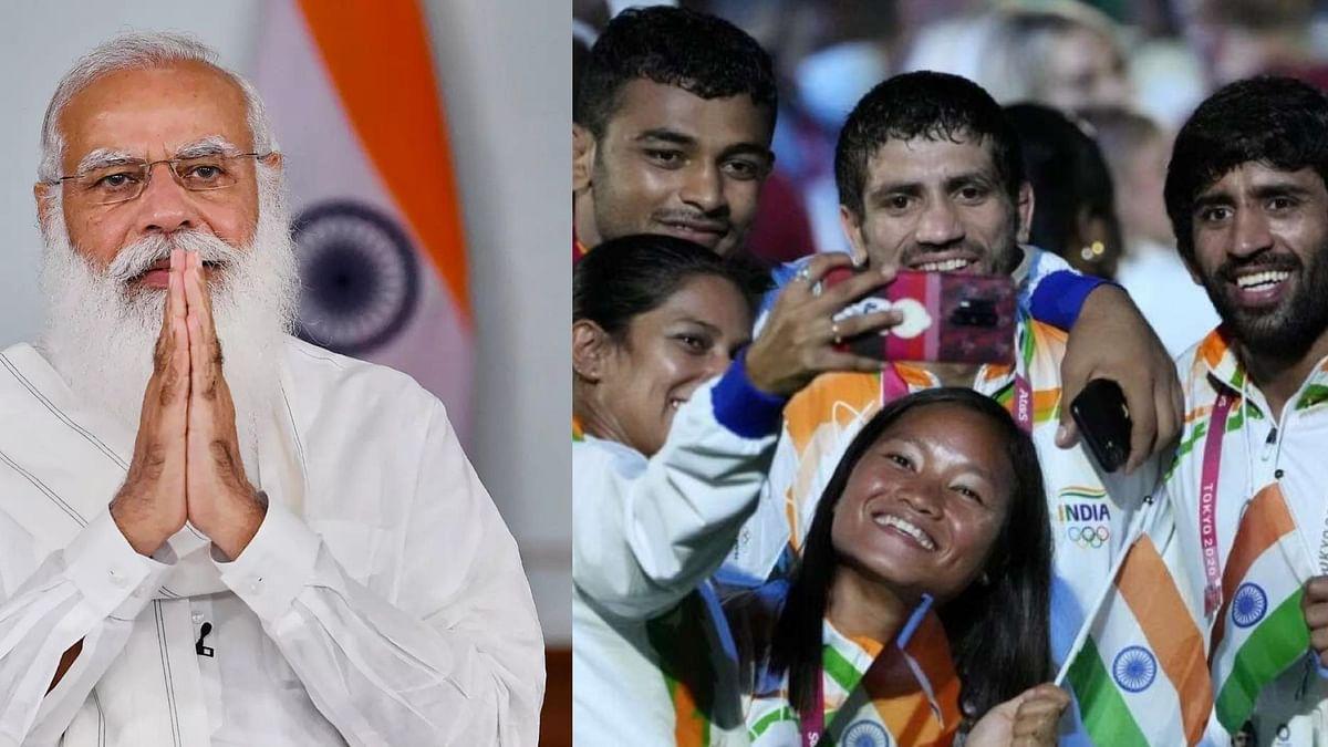 मोदी ने ओलंपिक खेलों में शानदार प्रदर्शन के लिए भारतीय दल को बधाई दी
