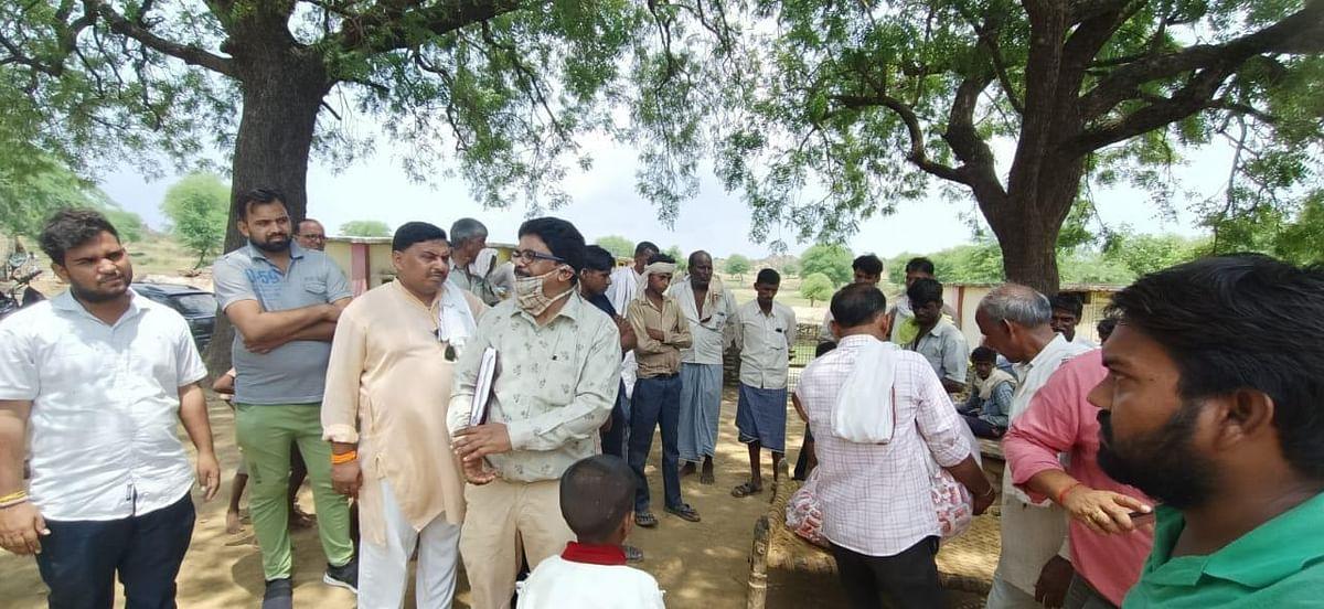 मुरैना : बाढ़ पीड़ितों की मदद में फेल साबित हो रहे प्रशासन के सारे दावे