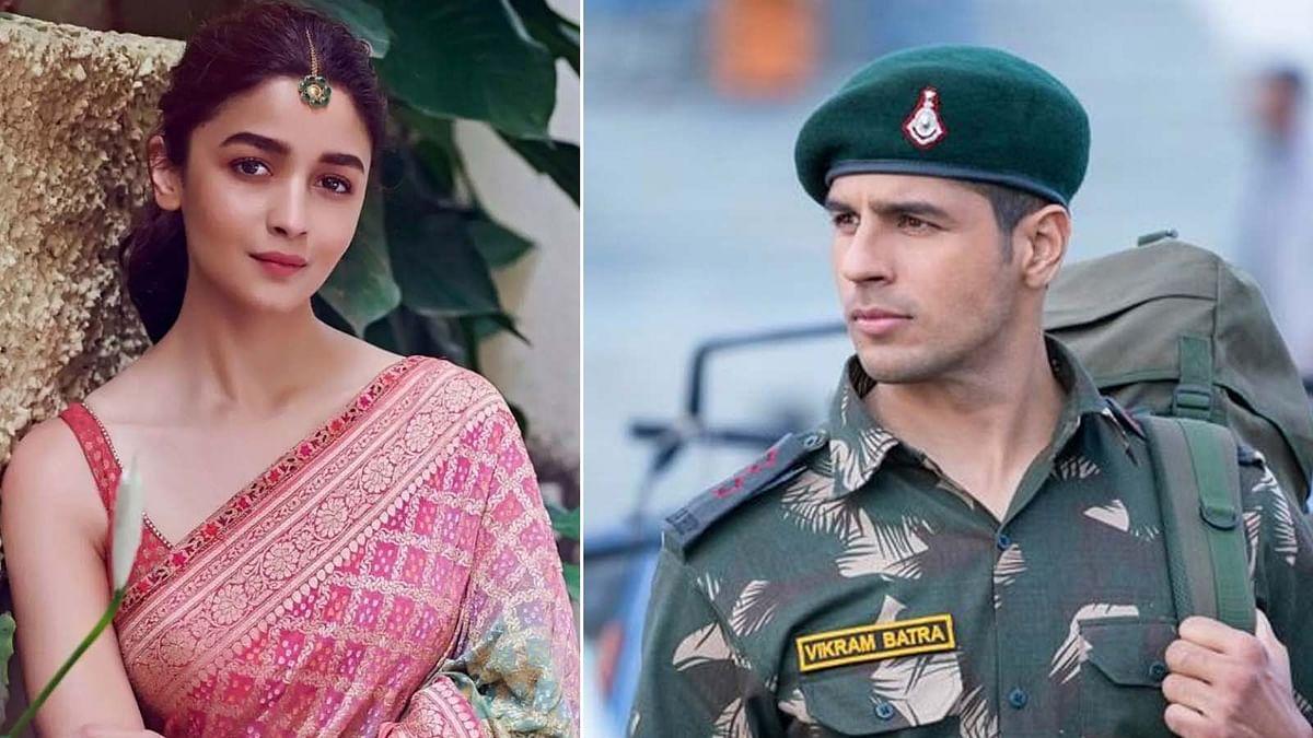 Alia Bhatt ने देखी फिल्म 'शेरशाह', पोस्ट शेयर कर की सिद्धार्थ की सराहना