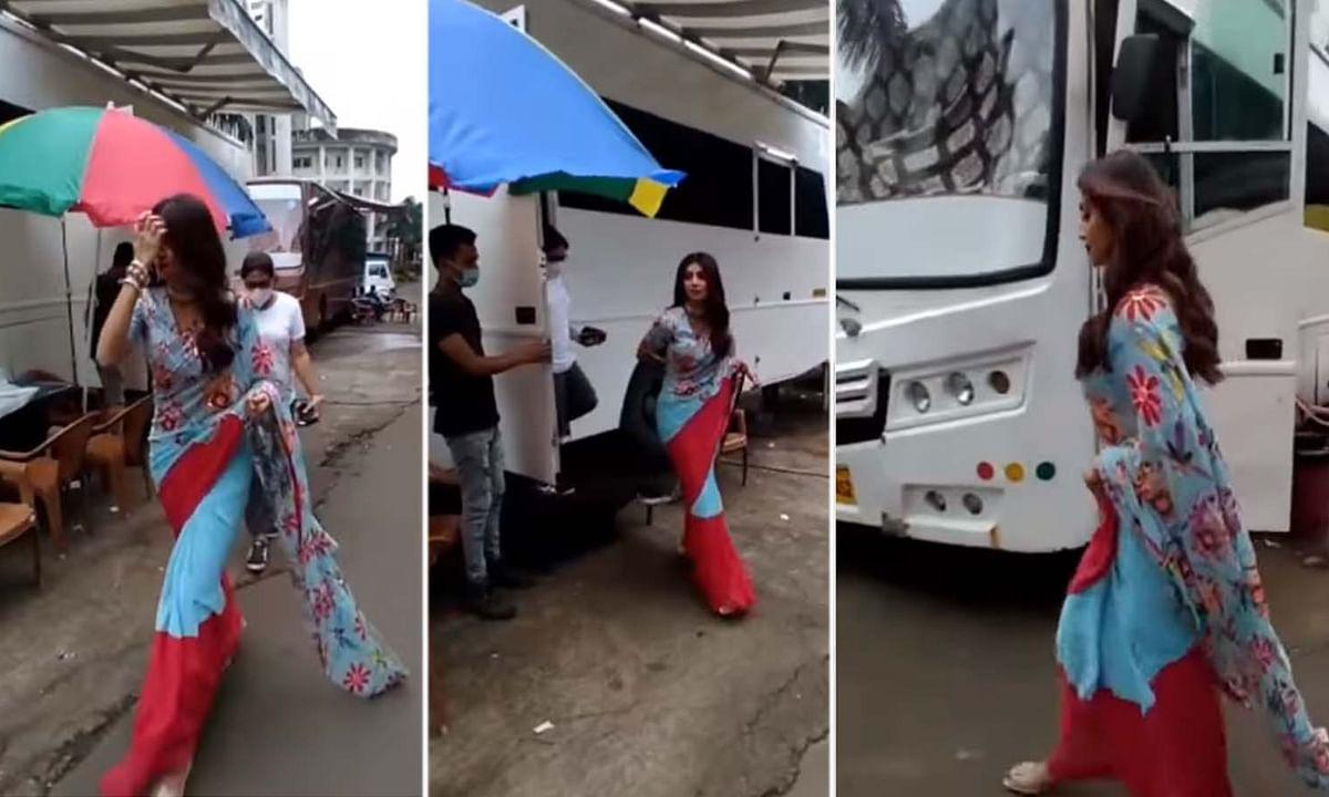 लंबे समय के बाद शूटिंग पर वापस लौंटी शिल्पा शेट्टी, सामने आया वीडियो