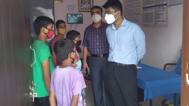 पुलिस अधीक्षक ने पुष्पराजगढ़ अनुभाग का किया भ्रमण