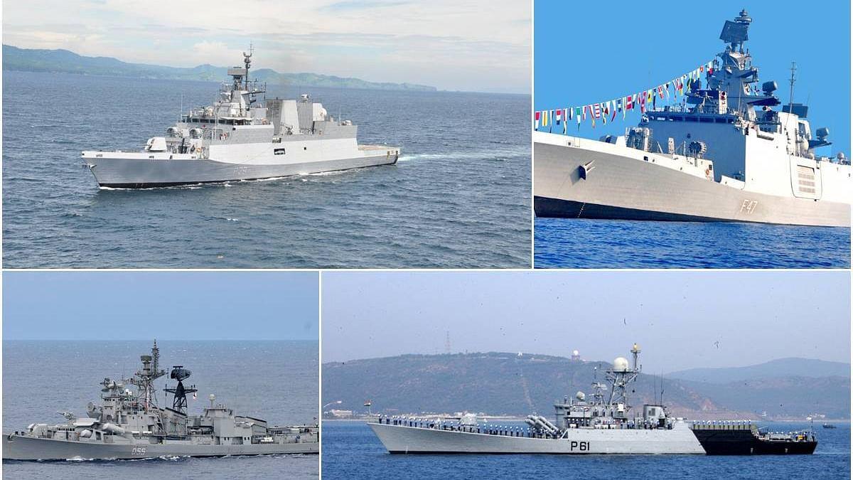 अमेरिका, भारत, जापान और ऑस्ट्रेलिया की नौसेनाओं के बीच मालाबार अभ्यास