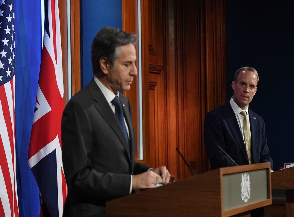 ब्लिंकन और रैब ने की अफगानिस्तान के मुद्दे पर चर्चा