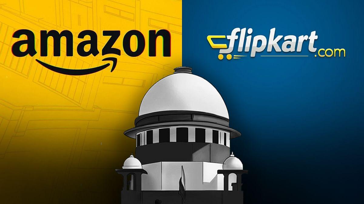 सुप्रीम कोर्ट ने CCI जाँच मामले में Amazon और Flipkart को नहीं दी राहत