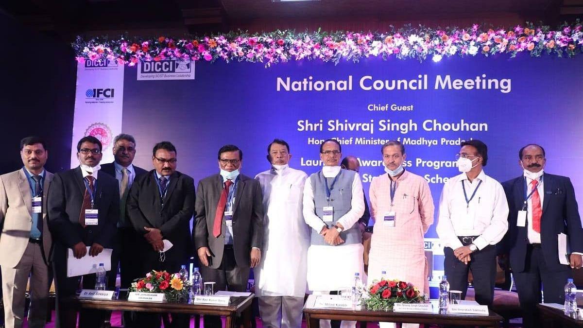 MP के मुख्यमंत्री शिवराज ने डिक्की नेशनल काउंसिल मीट का किया शुभारंभ