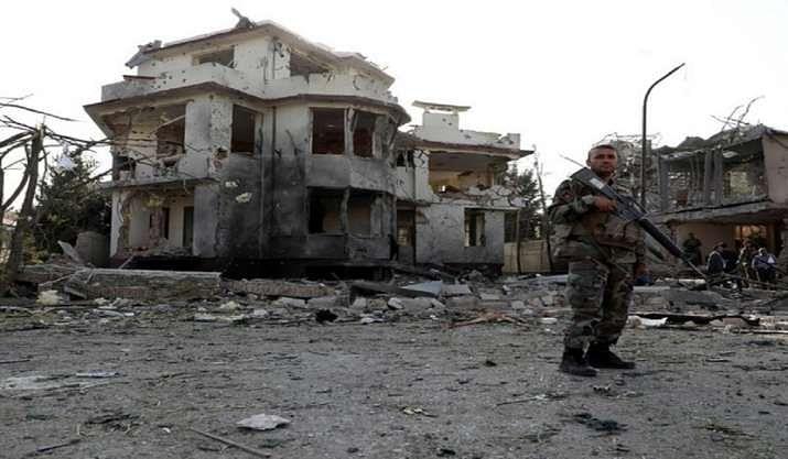 अफगानिस्तान में रक्षा मंत्री के आवास पर हुए हमले में चार हमलावरों समेत 12 की मौत