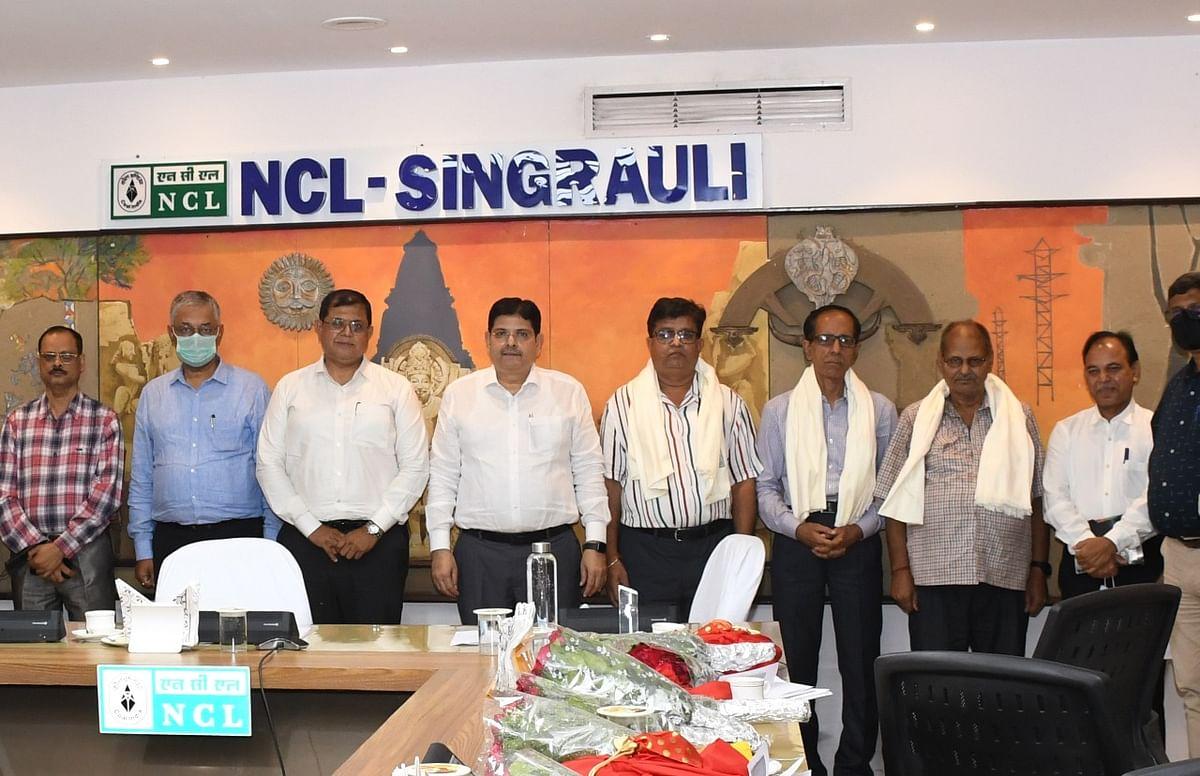 Singrauli : एनसीएल से अगस्त माह में सेवानिवृत्त हुए 48 कर्मी