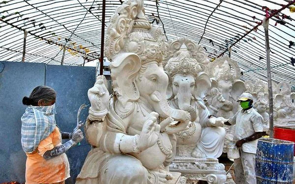 प्लास्टर ऑफ पेरिस की मूर्तियां बनाने वालों के विरूद्ध होगी कार्रवाई