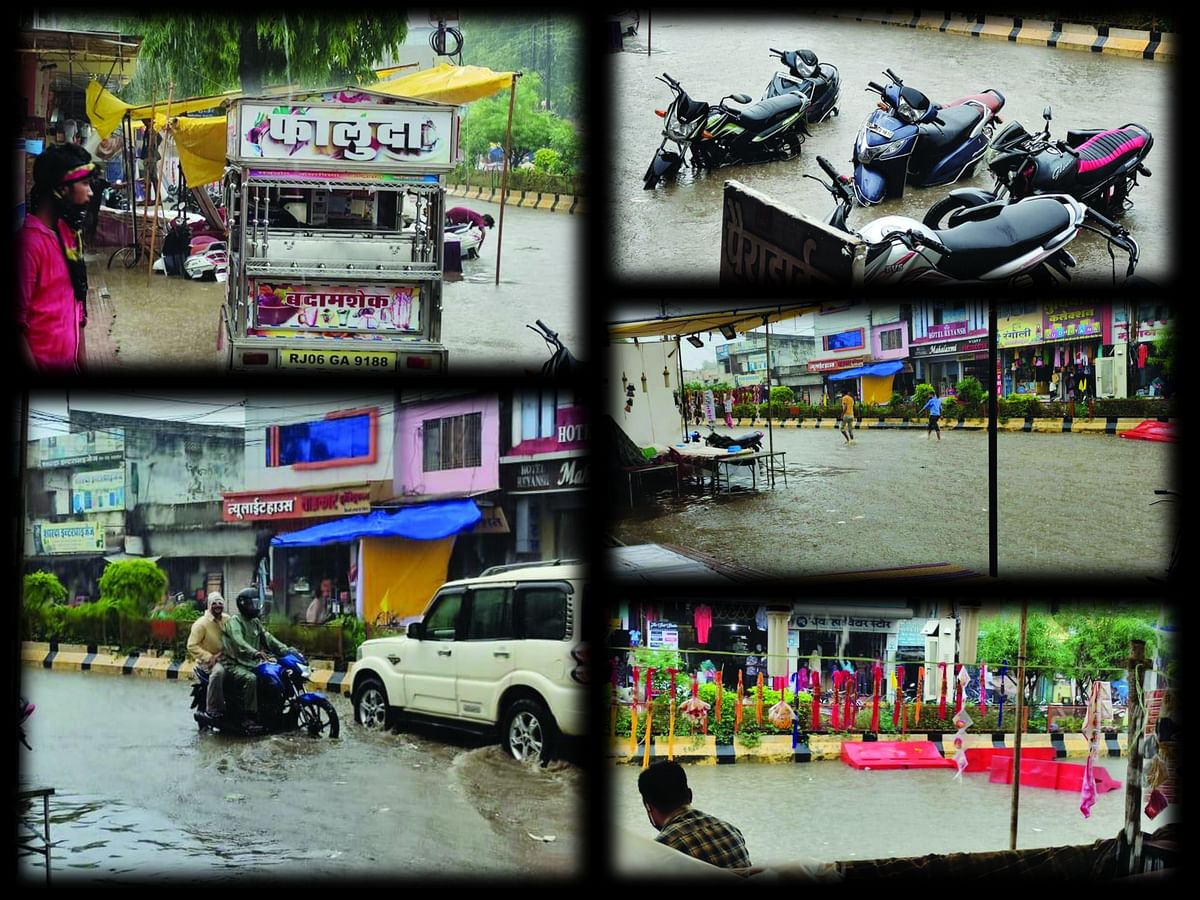 Shahdol : 19 साल की सरकार नहीं थाम सकी, 19 मिनट की बारिश