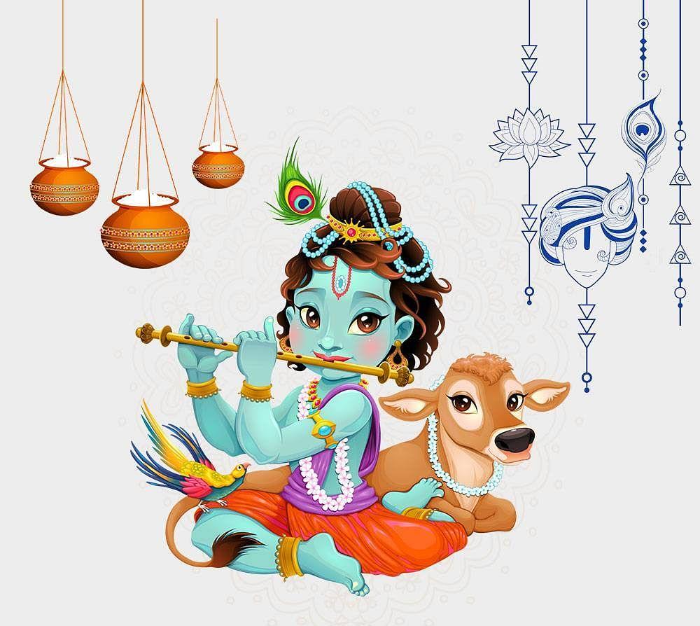 अष्टमी तिथि के योग संयोग में रात्रि 12 बजे महानिशा काल के समय मनेगा कृष्ण जन्मोत्सव