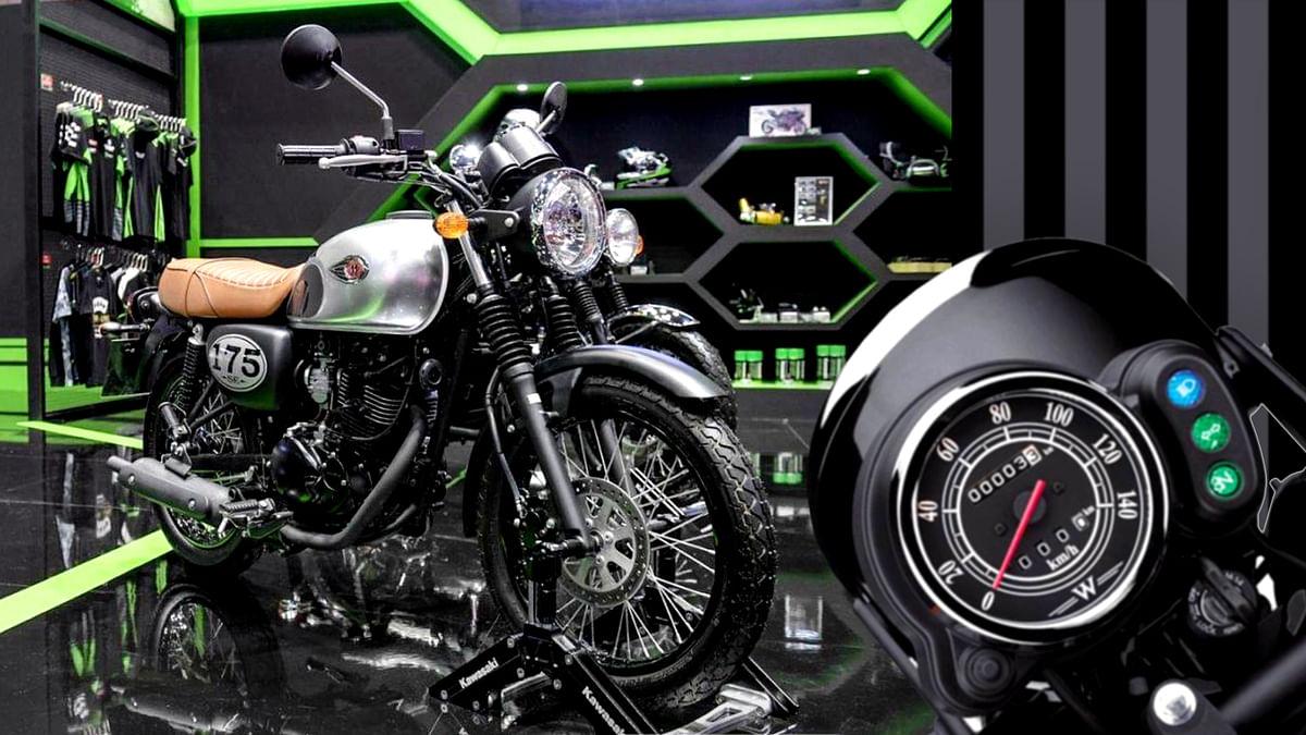 भारत में रेट्रो लुक में नजर आएगी Kawasaki की नई बाइक 'W175'