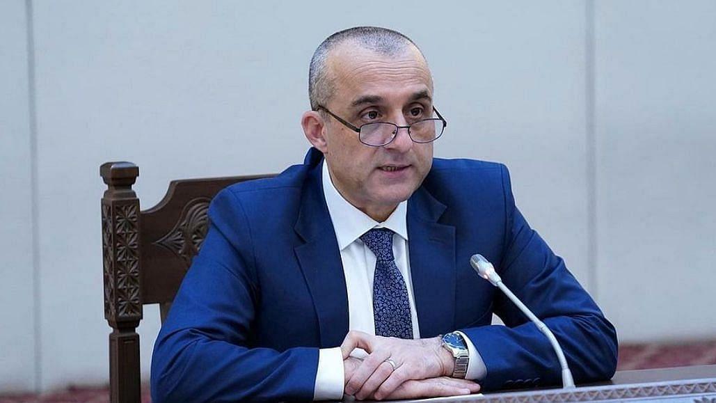 सालेह को अफगानिस्तान की वैध सरकार के रूप में मान्यता देने का आग्रह