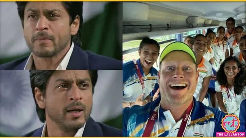 'चक दे इंडिया' के कोच शाहरुख ने दी महिला हॉकी टीम और कोच को बधाई