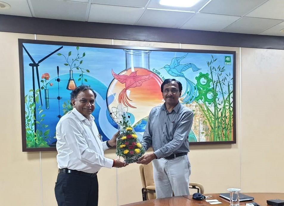 Singrauli : सीएसआईआर-नीरी नागपुर के वैज्ञानिकों से मिले सीएमडी एनसीएल