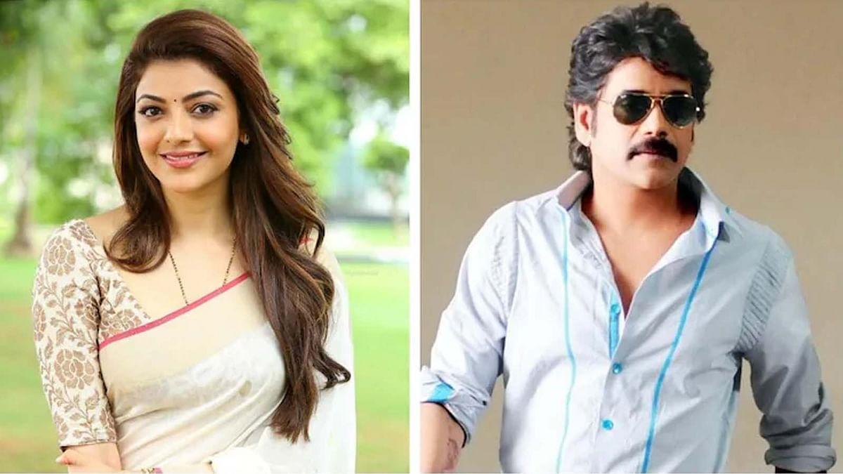 नागार्जुन और काजल अग्रवाल की नई फिल्म की घोषणा, प्री-लुक पोस्टर हुआ रिलीज