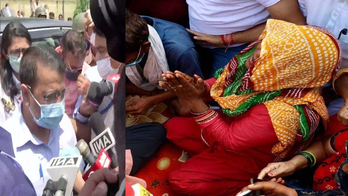 CM केजरीवाल ने लड़की के परिवार से मिल दुख दर्द बांटा और मदद के लिए किया ये ऐलान