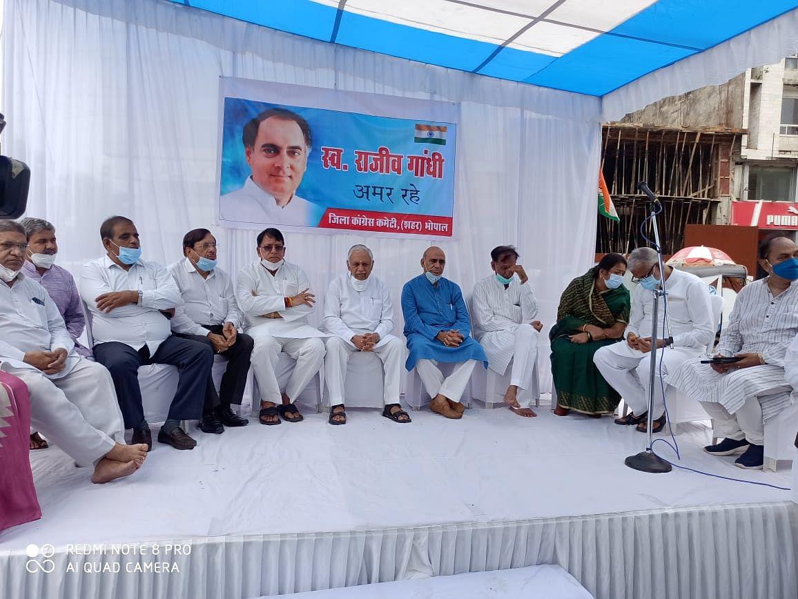 राजीव गांधी ने की थी नए भारत की परिकल्पना : सुरेश पचौरी