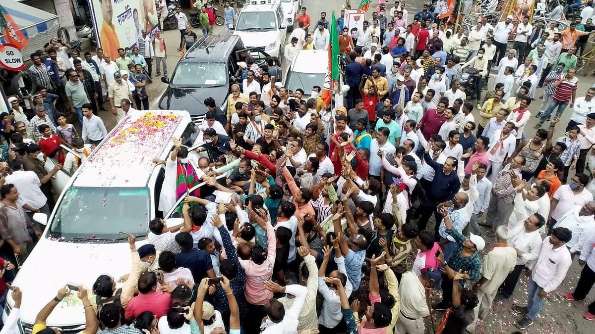 केंद्रीय मंत्री सिंधिया की जन आशीर्वाद-यात्रा आज इंदौर में