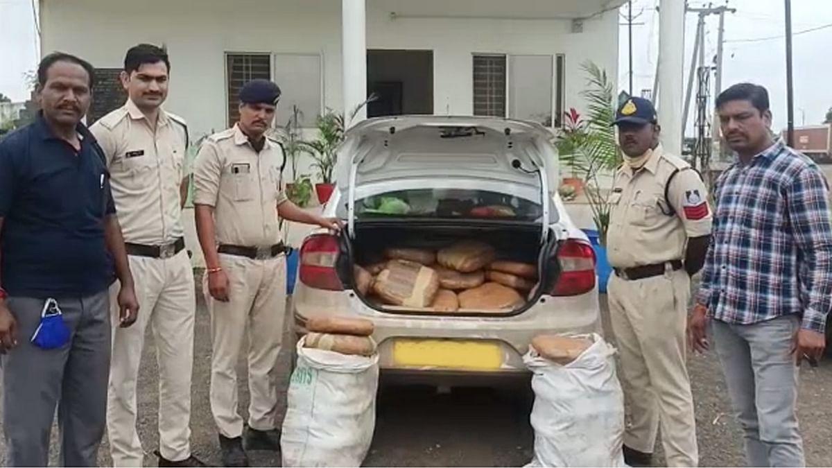 Bhopal: कोलार पुलिस की बड़ी कार्रवाई, 70 किलो गांजा के साथ दो तस्कर गिरफ्तार