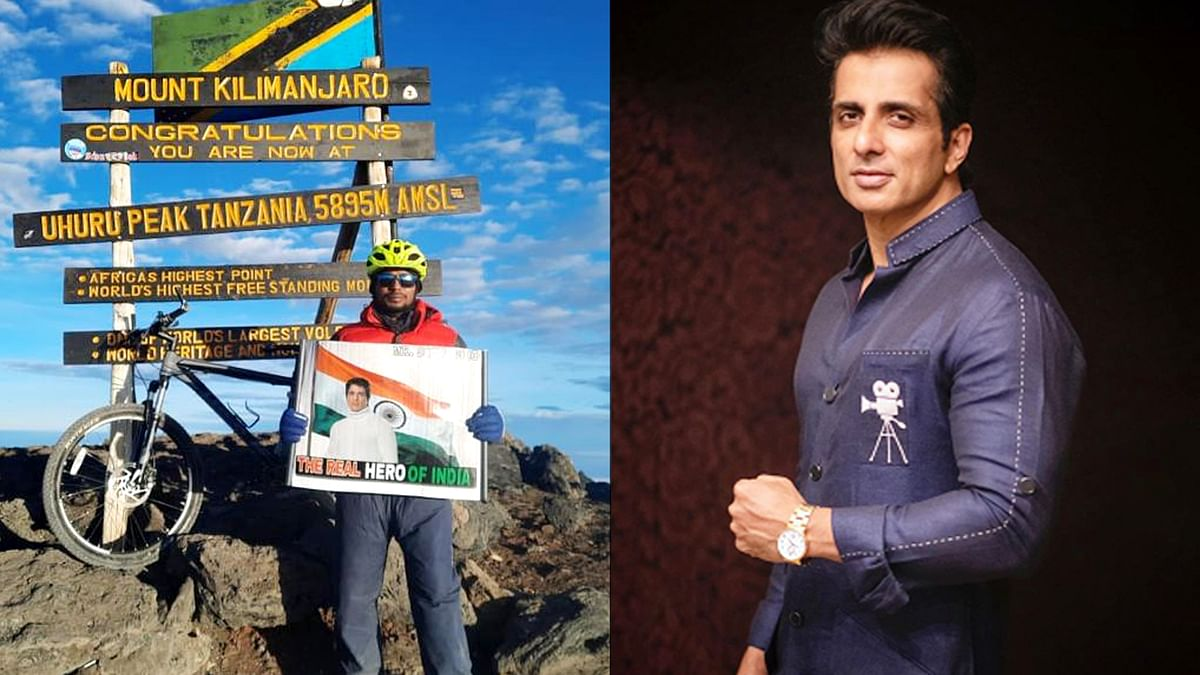 पर्वतारोही और साइक्लिस्ट उमा सिंह ने सोनू सूद को अपनी जीत समर्पित की