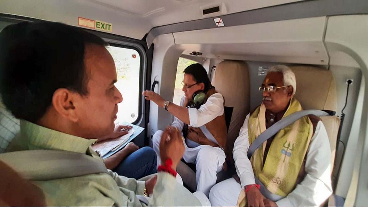 उत्तराखंड में आफत की बारिश- CM धामी ने आपदा ग्रस्त क्षेत्रों का किया हवाई सर्वेक्षण