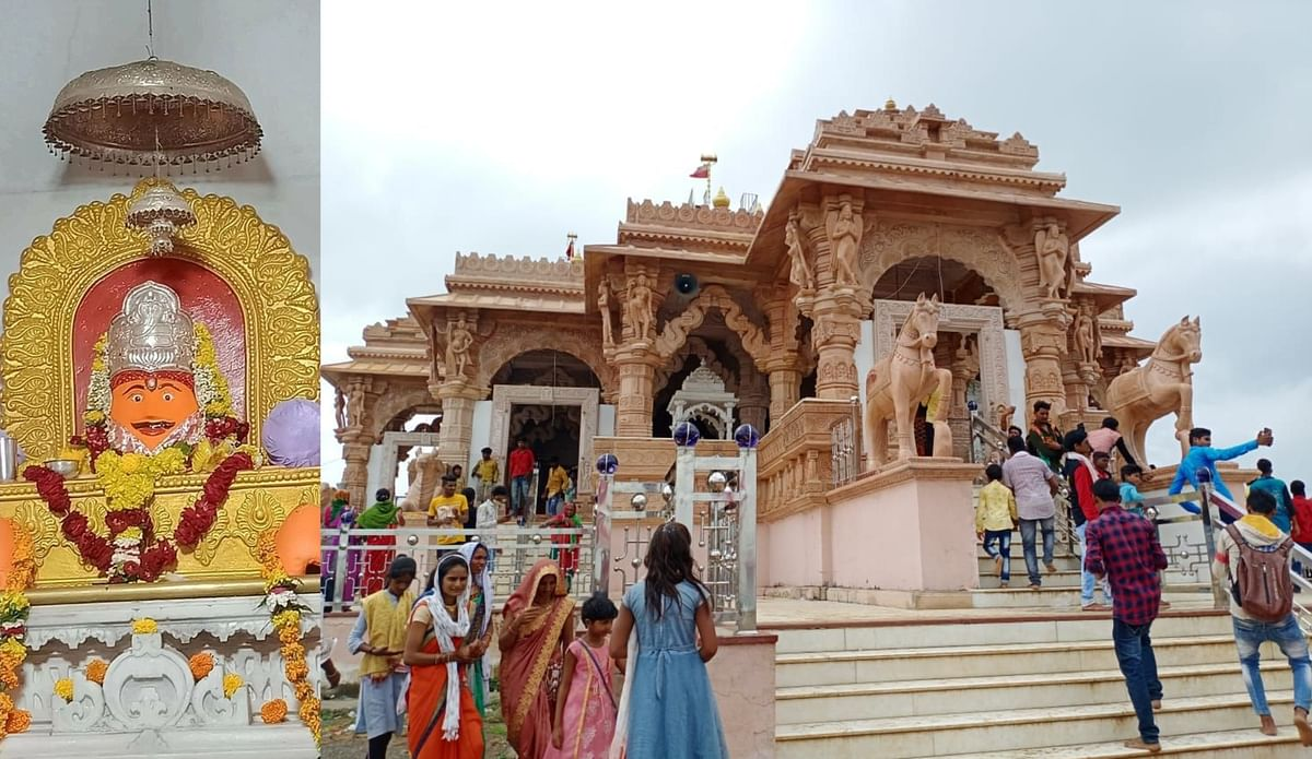 बड़वानी : शिव कृपा से यशस्वी कीर्तिमान शिवप्रसाद पूज्य भिलट देव का पुण्य अवतरण हुआ