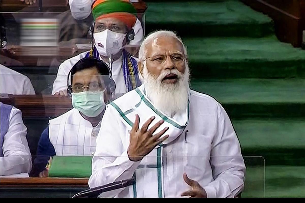 हंगामे से संसद की कार्यवाही ठप- आज फिर विपक्ष पर जमकर भड़के PM मोदी