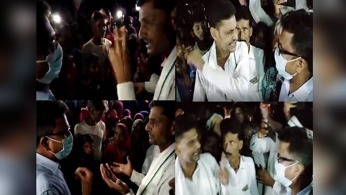 श्योपुर: बाढ़ पीड़ितों को अनाज नहीं मिलने पर तहसीलदार पर भड़के कांग्रेस MLA बाबू जंडेल