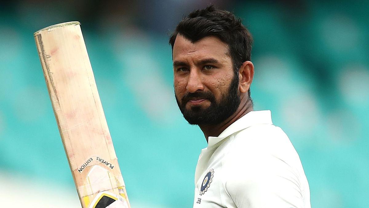 पुजारा शतक के करीब, रोहित का अर्धशतक, भारत का मैच बचाने के लिए संघर्ष