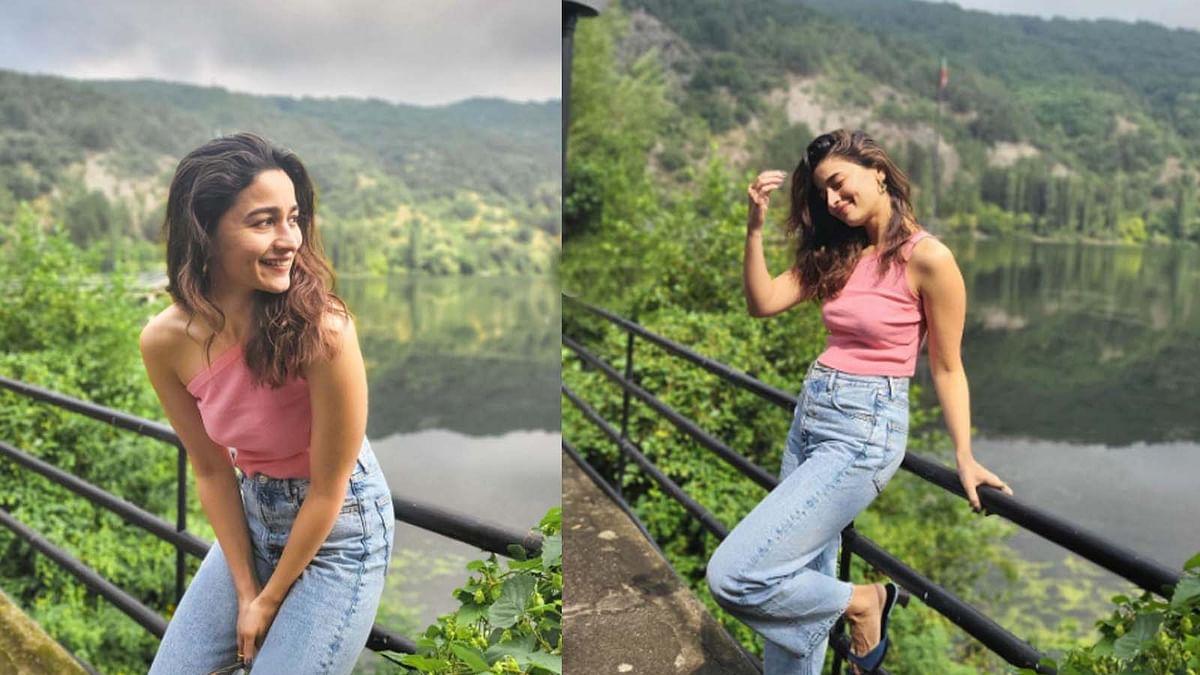 नदियों-पहाड़ों के बीच आलिया भट्ट ने कराया फोटोशूट, वायरल हुईं Photos