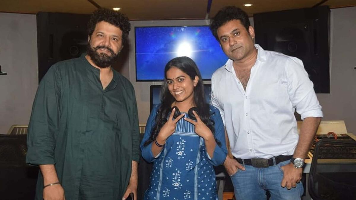सायली कांबले ने मराठी फिल्म के लिए रिकॉर्ड किया अपना पहला गाना